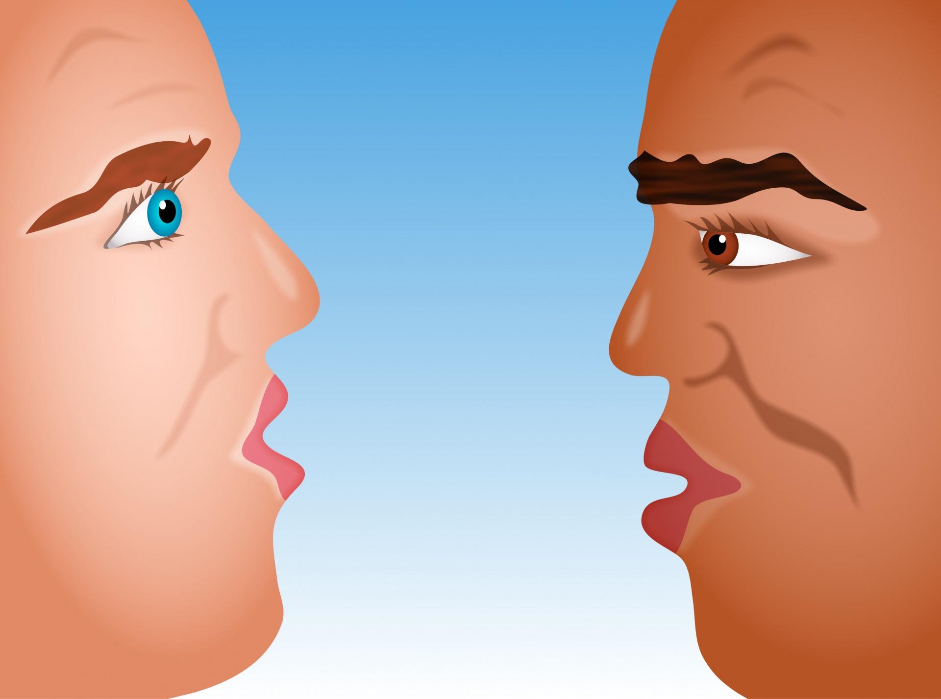 陰口を叩くな。面と向かって言えは正しいのか?